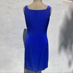 Niteline Dresses - Vintage Azure Blue Minidress